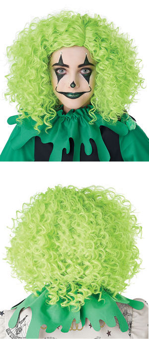 コスチューム LCC7020-118 Corkscrew Clown Curls Wig