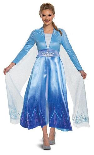 コスチューム LDS23170 Adult Elsa Deluxe Costume