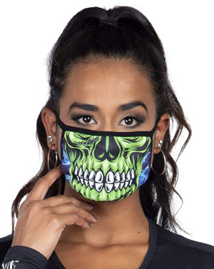 コスチューム LLAM1011 Zombie Skull Mask