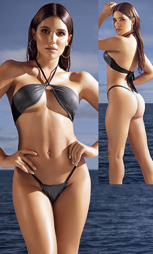 輸入水着 LEP6607 2pc Swimwear