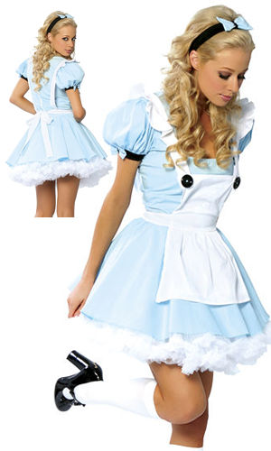コスチューム LRB1459-1400 Alice Costume with Petticoat