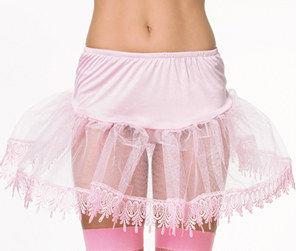 コスチューム LLA8999S Teardrop Lace Petticoat
