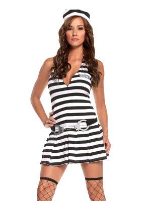 コスチューム LEM9512 3pc Irresistible Inmate Costume